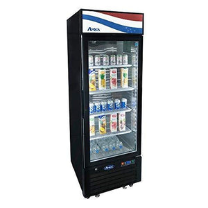 "MCF8725GR Refrigerator Merchandiser, one-section, 24-1/5""W x 24""D x 76-1/5""H, bottom-mounted self-contained re"