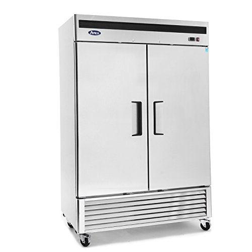 MBF8507GR Atosa Refrigerator, reach-in, two-section, 54-2/5