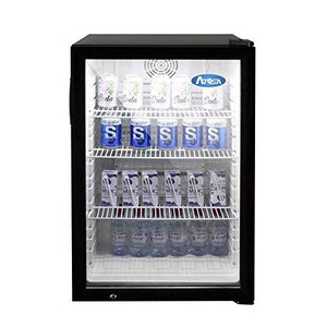 "CTD-5 Refrigerator Merchandiser, countertop, one-section, 21-1/4""W x 22""D x 33-3/4""H, forced air cooling,"