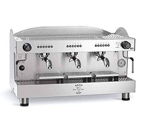 BEZZERA B2016DE3IS4E Espresso Machine 3 Gr - Automatic. UL/NSF. 220V