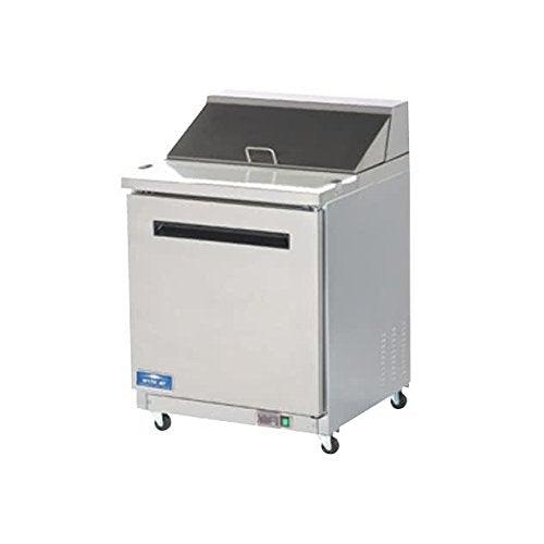 Arctic Air AMT28R 29-Inch 1-Door Mega Top Refrigerated Sandwich/Salad Prep Table, 115v