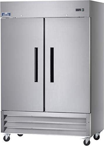 Arctic Air AF49 Two Section Reach-in Commercial Freezer - 49 cu. ft.