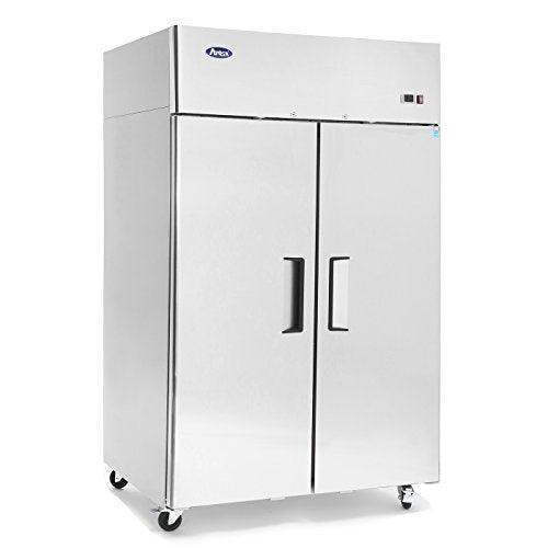 MBF8002GR Atosa Freezer, reach-in, two-section, 51-7/10