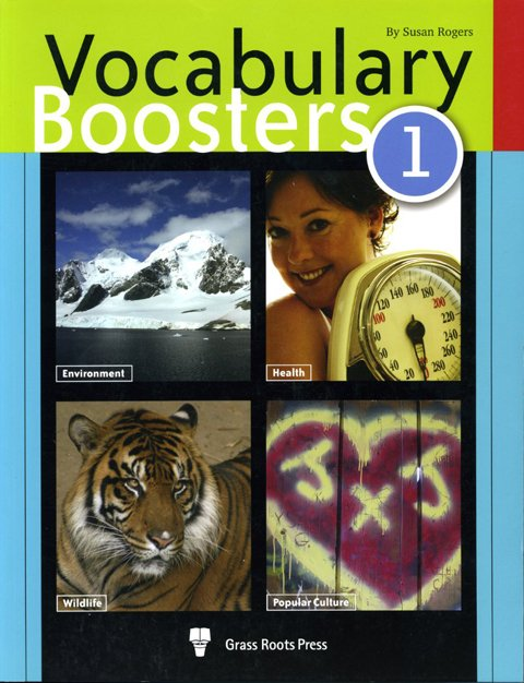 Vocabulary Boosters Workbook 1