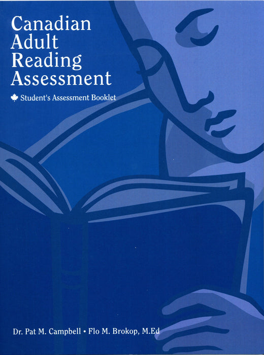 Canadian Adult Reading Assessment: Student's Assessment Booklet