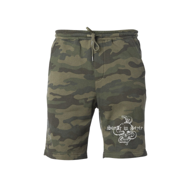 Strike in Style Camo Shorts
