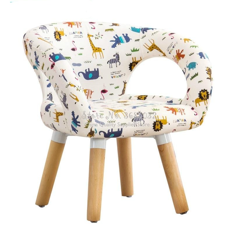 Wooden Stool Cartoon print - Neewbies Baby Store