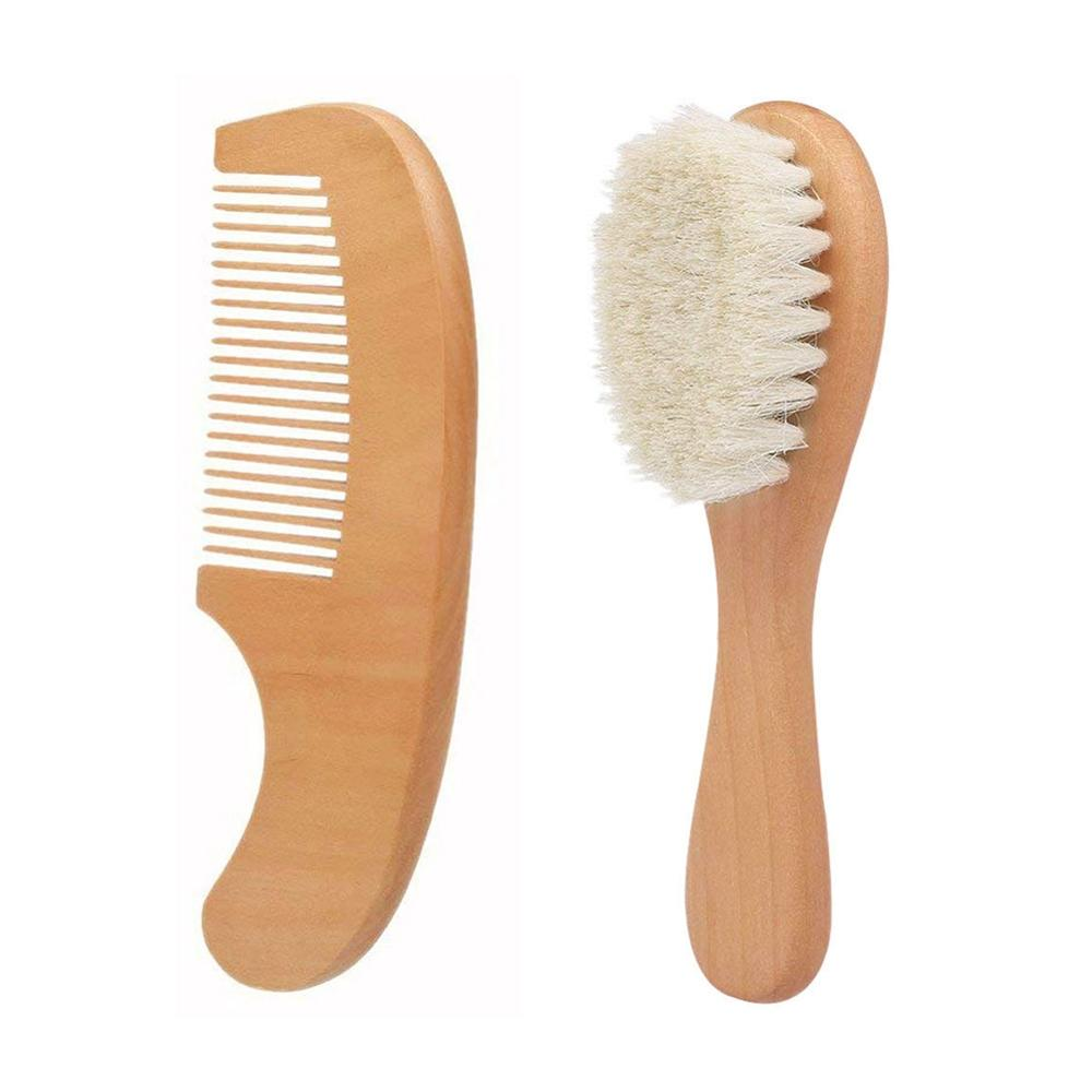 Baby Natural Wooden Comb