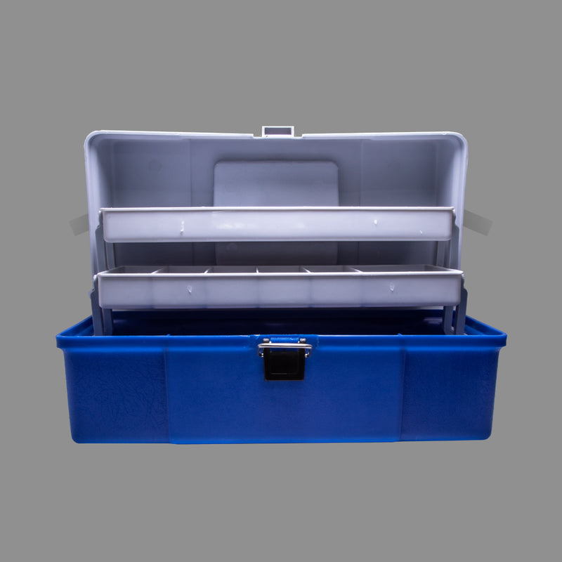 2 Tray Tackle Box