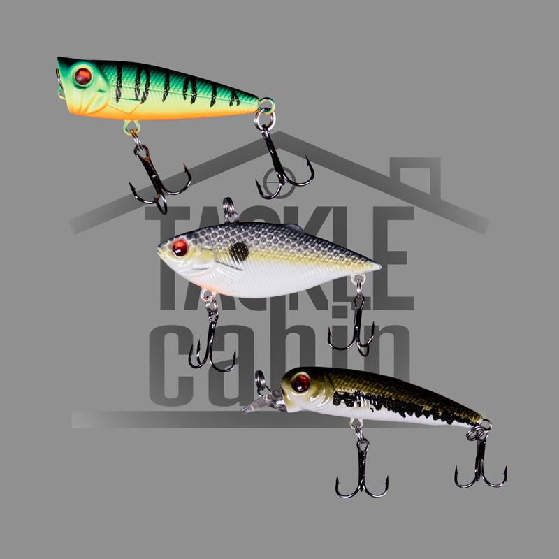 3 Pc Bass Lure Combo