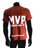 This MVP Design features a comfortable, casual and loose-fitting, our heavyweight red t-shirt will quickly become one of your favourites.