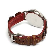Ladies Brown Delancey Leather Analogue Coach Watch 14502744