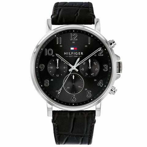 Men's Black Chronograph Tommy Hilfiger Watch 1710381
