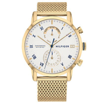 Men's Kane Gold Mesh Strap ChronographTommy Hilfiger Watch 1710403