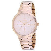 Ladies Rose Gold Alessa Stainless Steel Analogue Tommy Hilfiger Watch 1782076