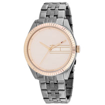 Ladies Silver Analog Stainless Steel Analogue Tommy Hilfiger Watch 1782084