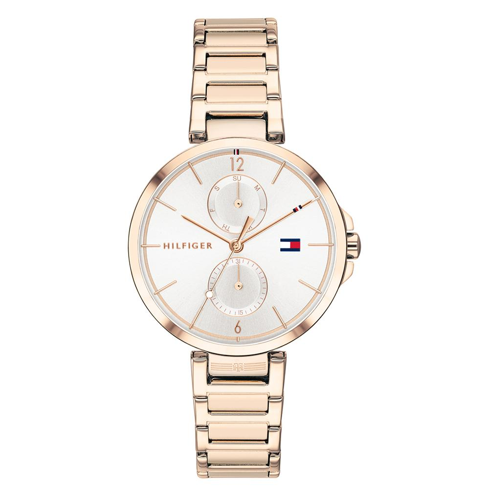 Ladies Angela Rose Gold Stainless Steel StrapTommy Hilfiger Watch 1782124