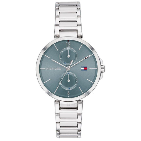 Ladies Angela Silver Stainless Steel Strap Tommy Hilfiger Watch 1782126
