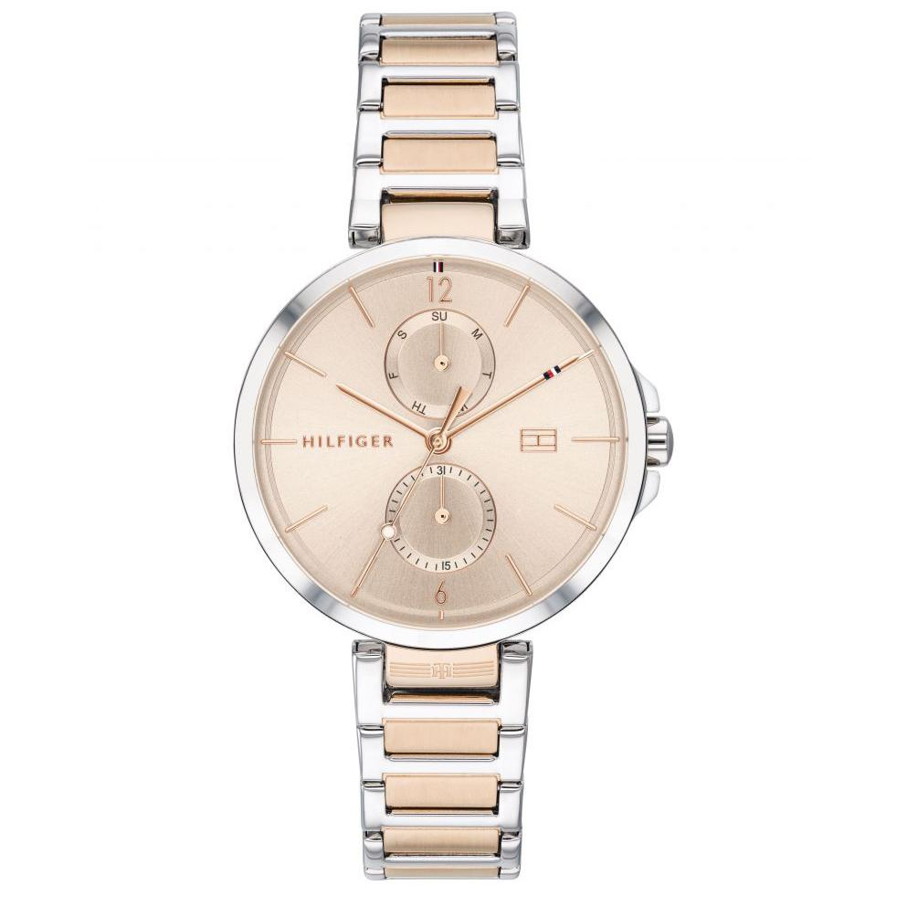 Ladies Angela Two Tone Rose Gold Tommy Hilfiger Watch 1782127