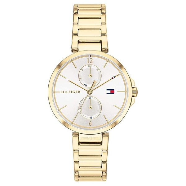 Ladies Angela Gold Bracelet Strap Tommy Hilfiger Watch 1782128