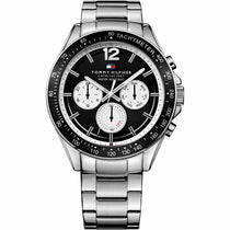 Men's Black Chronograph Tommy Hilfiger Watch 1791120
