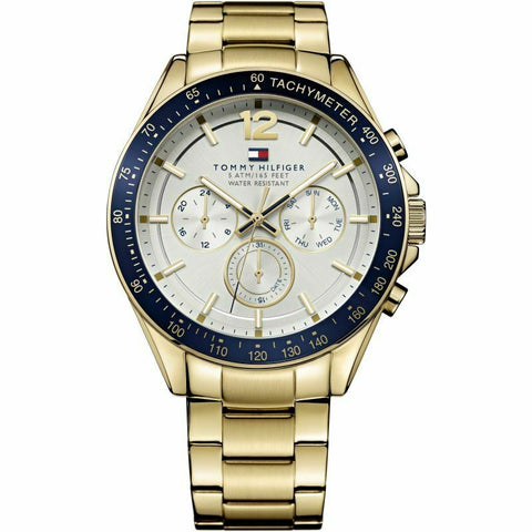 Men's Gold Chronograph Tommy Hilfiger Watch 1791121