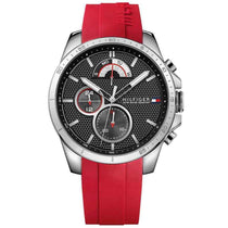 Men's Red Chronograph Tommy Hilfiger Watch 1791351