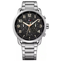 Men's Black Chronograph Tommy Hilfiger Watch 1791422