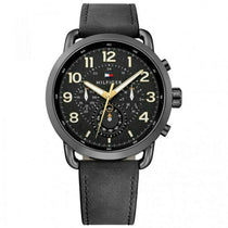 Men's Black Chronograph Tommy Hilfiger Watch 1791426