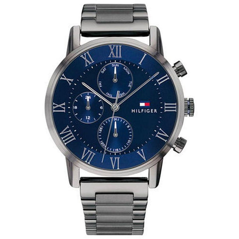Men's Kane Blue & Gunmetal Grey Tommy Hilfiger Watch 1791456
