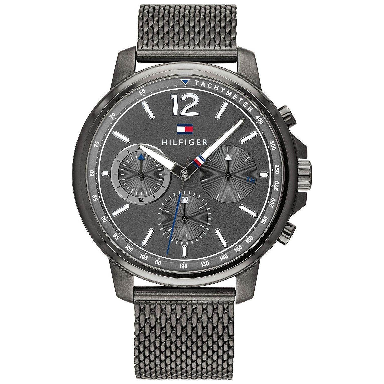 Men's Grey Chronograph Tommy Hilfiger Watch 1791530