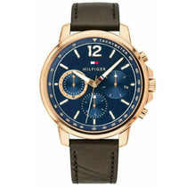 Men's Gold Strap Chronograph Tommy Hilfiger Watch 1791532