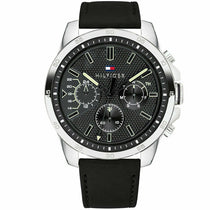 Men's Black Chronograph Tommy Hilfiger Watch 1791563