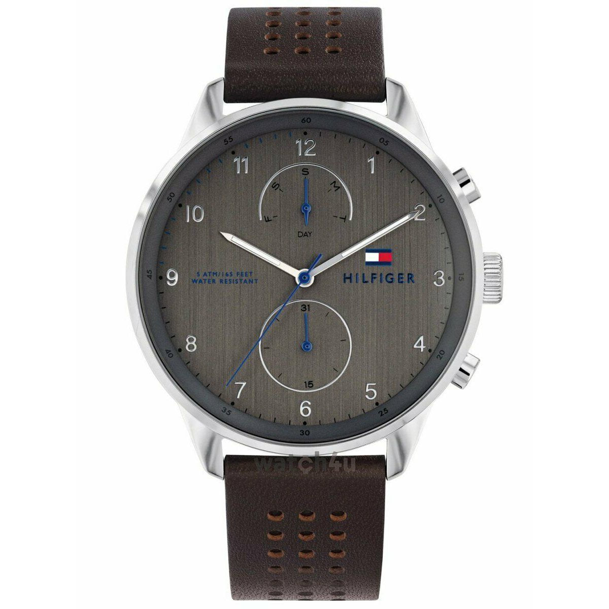 Men's Grey Multi Function Tommy Hilfiger Watch 1791579