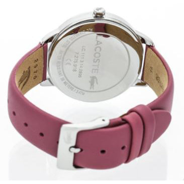 Ladies Pink Lexi Leather Analogue Lacoste Watch 2001057