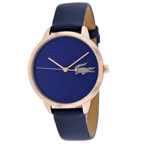 Ladies Blue Lexi Leather Analogue Lacoste Watch 2001058
