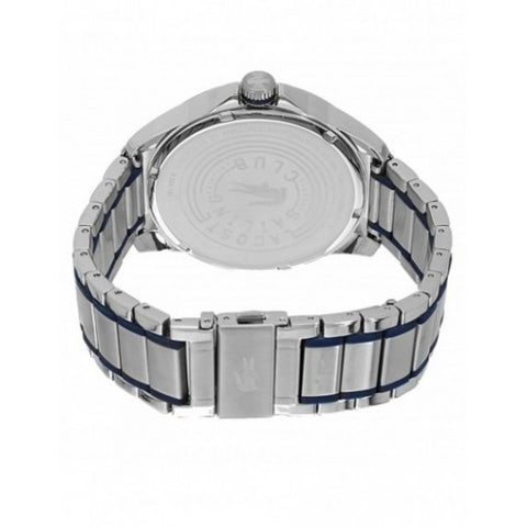 Men's Blue Capbreton Stainless Steel Analogue Lacoste Watch 2010944