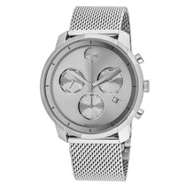 Men's Silver Bold Stainless Steel Analogue Movado Watch 3600371