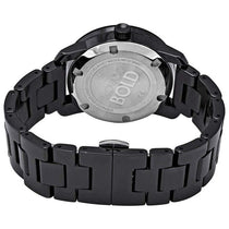 Ladies Black Bold Stainless Steel Analogue Movado Watch 3600535