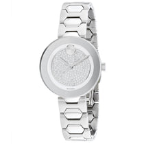 Ladies Silver Bold Stainless Steel Analogue Movado Watch 3600567