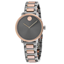 Ladies Rose Gold Stainless Steel Analogue Movado Watch 3600722