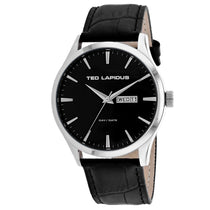 Men's Black Classic Leather Analogue Ted Lapidus Watch 5124203