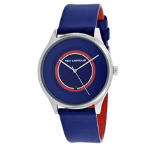 Men's Blue Classic Leather Analogue Ted Lapidus Watch 5131902
