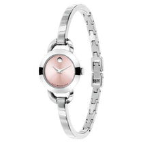 Ladies Silver Classic Stainless Steel Analogue Movado Watch 606797