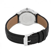 Ladies Black Museum Leather Analogue Movado Watch 607204