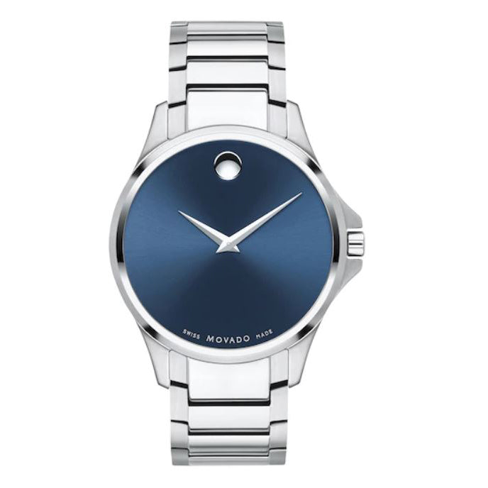 Men's SIiver Ario Stainless Steel Analogue Movado Watch 607447