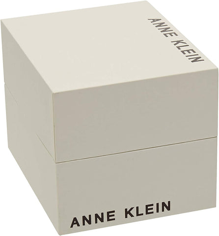 Ladies Silver Classic Stainless Steel Analogue Anne Klein Watch AK-2557WTSV