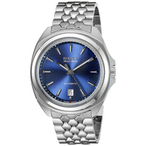 Men's Blue Telc Stainless Steel Analogue Bulova Watch 63B186