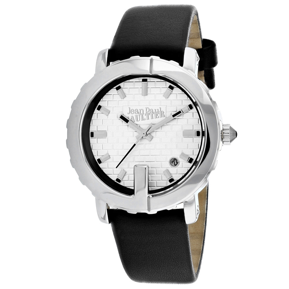 Ladies Black Classic Leather Analogue Jean Paul Gaultier Watch 8500515