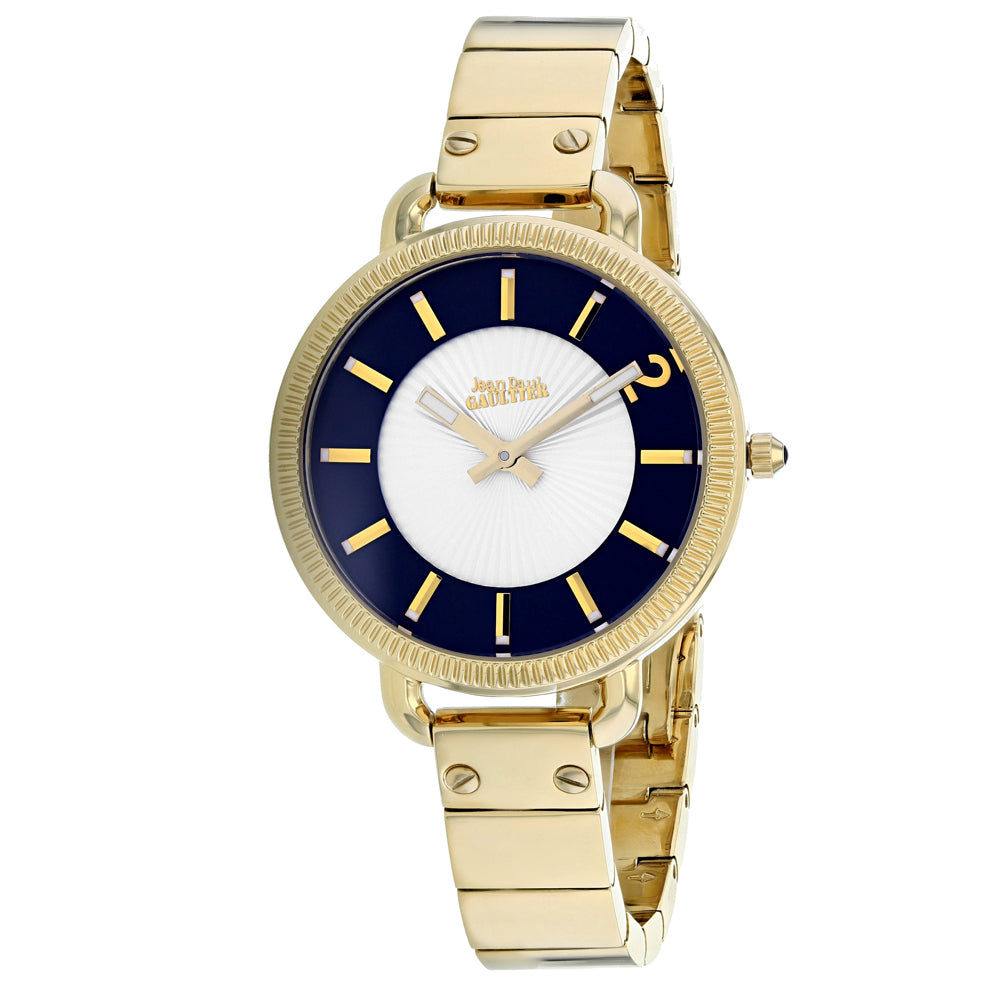 Ladies Gold Index Stainless Steel Analogue Jean Paul Gaultier Watch 8504303